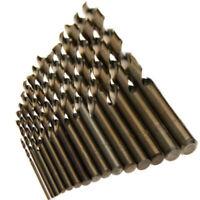 15x/set Cobalt HSS-Co Drill Bit Set For Stainless Steel 5% M35 Metal Sheet Tool