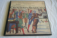 MASCAGNI Cavalleria Rusticana 2 LP Box SANTINI Angel BL-3632 Mint de los Angeles