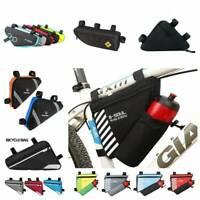 Mountain Bike Storage Pouch Cycling Bicycle Frame Front Tube Triangle Bag