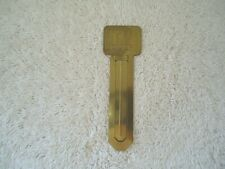 "Vintage Brass TV Guide Book Mark "" BEAUTIFUL COLLECTIBLE USEABLE ITEM """