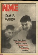 NME NEWSPAPER COVER FOR 28/11/1981 GABI AND ROBERT OF D.A.F.