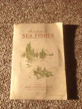Vintage John Player Cigarette Cards 'Album of Sea Fishes ' Complete