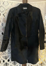 Vintage Black Brown Pony Horse Hair Coat Jacket Horsehide Horsehair Size Small