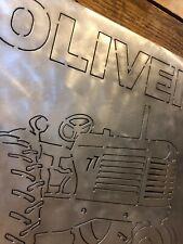 Oliver 77 Tractor Sign Super 66 88 770 880 1855 2255 Grill Parts Toy Model Farm