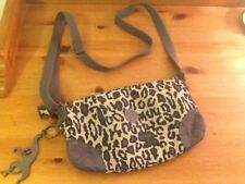Kipling Shake S (Lucky Leopard) small shoulder bag, tag grey, new condition