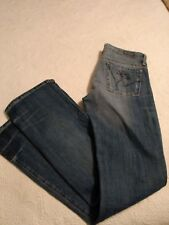 NWOT New Citizens of Humanity Pistol 188-001 Kelly Boot Cut Jeans 27 X 34 Skull