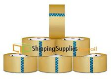 """Lot of 12 Rolls Packing Carton Sealing Packaging Tape 2"""" 110 Yds (330 ft) Clear"""