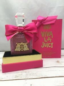 NEW Juicy Couture Viva La Juicy Pure Perfume LE Pink  Bottle 3.4 fl oz
