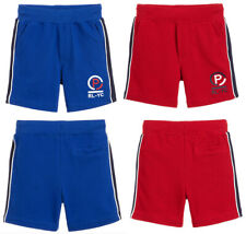 Ralph Lauren Kids Boys Cotton Pique Logo Stretch summer Jogger Elastic shorts