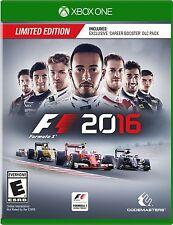 NEW F1 2016: Limited Edition (Microsoft Xbox One, 2016)