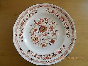 """WEDGWOOD KASHMAR """"GEORGETOWN COLLECTION""""  SUPPER PLATES 9"""" DIA 4 AVAILABLE VGC"""