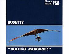 CD ROSETTY holiday memories DENNIS MUSIC EX+ 1999