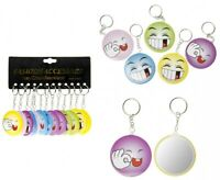 6 x Spiegel und Smilie Button in Einem Spielzeug Kindergeburtstag Mitgebsel