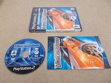 PS2 Playstation 2 Spiel PAL Need for Speed Underground mit Box Anleitung