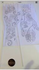 Acrylic Transparent Practice Henna Hand