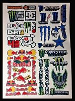 RC STICKERS WILL FIT MUST   1/8 1/10 1/12th RC CARS TAMIYA TRAXXAS KYOSHO