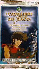 I CAVALIERI DELLO ZODIACO - 10 BUSTE - 7 CARDS