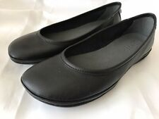 CAMPER  RIGHT NINA  BALLET FLATS, K200387-004,  EUR SIZE 39,  BLACK LEATHER, NEW