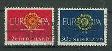 Briefmarken Niederlande 1960 Europa Mi.Nr.753+54