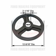 Sottoriva Svp 1 Belt Pulley. 25/52 x 319mm. 31250007