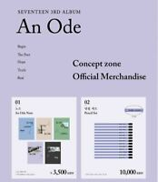 [SEVENTEEN] - [ An Ode ] CONCEPT ZONE POP UP STORE OFFICIAL MD With Tracking