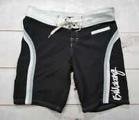 BILLABONG Womens Board Shorts Black Swim Trunks Stripes Sz 5