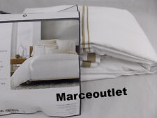 Hotel Collection Coordinated Basics Embroidered Frame FULL QUEEN Duvet Champagne
