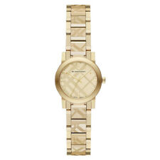 Burberry Women's Swiss Gold Ion-Plated Stainless Steel Watch BU9234