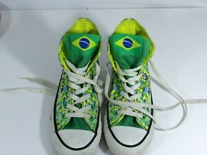 CONVERSE Brazil Limited Edition Chuck Taylor All Stars Mens 4 Womens 6