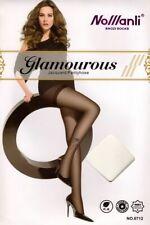 Black Sheer Jacquard Pattern Stocking Pantyhose