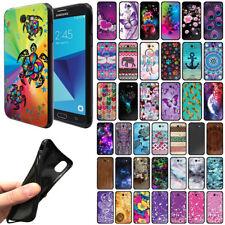 For Samsung Galaxy J7V J727/ J7 Sky Pro/ Perx TPU Black Silicone Cover Case