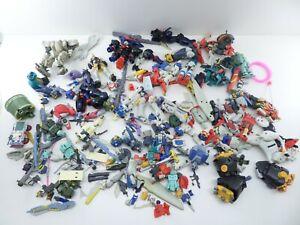 Huge 6 Pound Lot of Gundam Bandai Mobile Suit Wing Action Figure Parts & Pieces