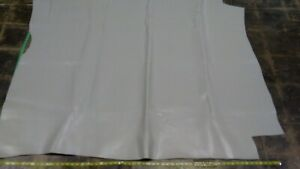 """Cowhide leather skin hide Smooth Cement Gray 55"""" x 60"""" Inches.4 oz."""