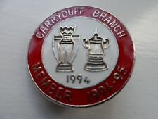 Manchester United Football Supporters Club Enamel Badge