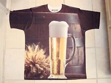 Get A Life: Cold Beer Liquor Keg All Over Print Party Polyester T Shirt XL