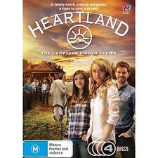 HEARTLAND-Season 8-Region 4-New AND Sealed-4 Dics Set-TV Series