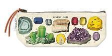 Cavallini - 100% Coton Naturel Vintage Mini Sac Pochette - 10x23cms - Mineralogy