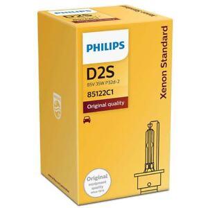 D2S Philips Xenon Vision HID Car Headlight Bulb 85122VIC1 P32d-2 4400K Single