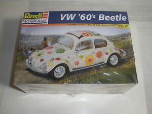 VW 60's Beetle Volkswagen bug model kit Revell Monogram Factory sealed