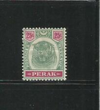 MALASIA. (Perak). Año: 1895/9. Tema: SERIE BASICA.