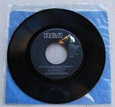 Elvis Presley 447-0629 Are You Lonesome Tonight / I Gotta Know