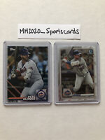 Pete Alonso 2020 Lot (2) Topps Insert #SP-3 & Bowman Chrome #65 Mets