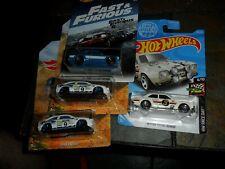 4 Lot Hot Wheels '70 Ford Escort Rs1600 Fast Furious Hw Race Day + (Caljeff)