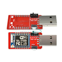 2PCS ESP07 ESP-07 Serial USB to ESP8266 WiFi Adapter Transceiver Module