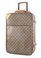 Authentic LOUIS VUITTON Pegase 55 Monogram Canvas Travel Rolling Suitcase #34013