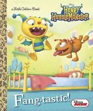 Little Golden Book: Fang-Tastic! (Disney Junior: Henry Hugglemonster) by...