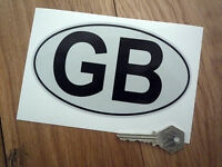 GB Car Nationality ID Plate Style HIGHLY REFLECTIVE Sticker 155mm Van Truck Brit