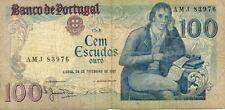 PORTUGAL 100 ESCUDOS 1981 état voir scan