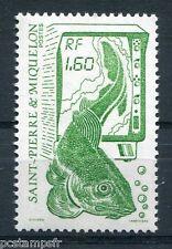 ST-PIERRE-et-MIQUELON, 1988, timbre 491, POISSON, LA PECHE, neuf**