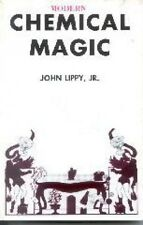 CHEMICAL MAGIC BOOK Fire Trick Science Flash Paper Special Effects Magician NEW